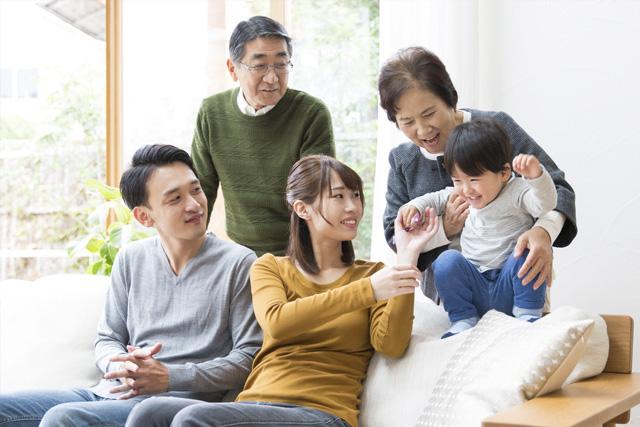 子供や孫と一緒に暮らすことができ、日々の楽しみと安心が得られる