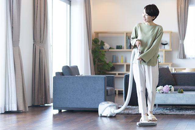 掃除が楽になり、効率的な家事ができます