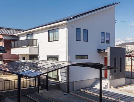 お客様の建てた家に、愛知県一宮市M様邸「パワーMAXスペシャル」を追加いたしました。
