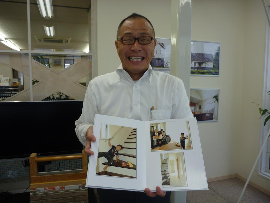 ニッケンホームで働くスタッフの紹介:営業部 杉谷 博