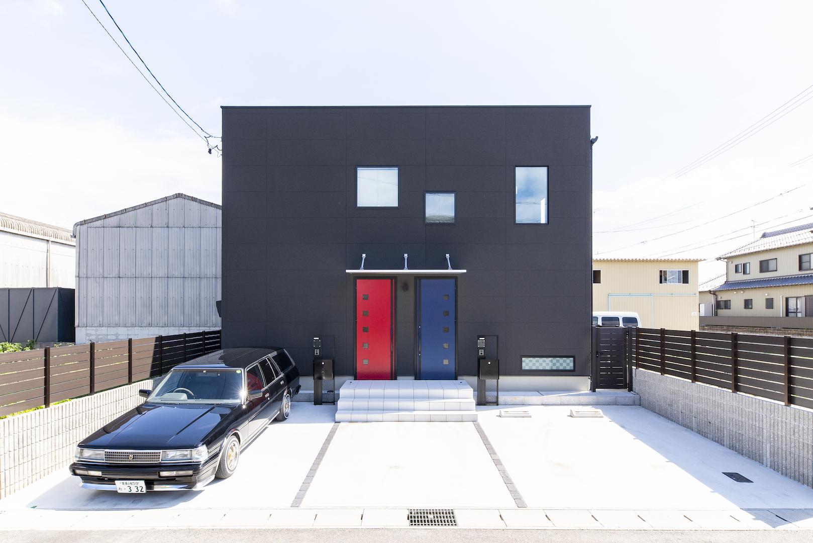 施工事例のご紹介【デザイン性に溢れる二世帯住宅】(一宮市N様・O様邸)