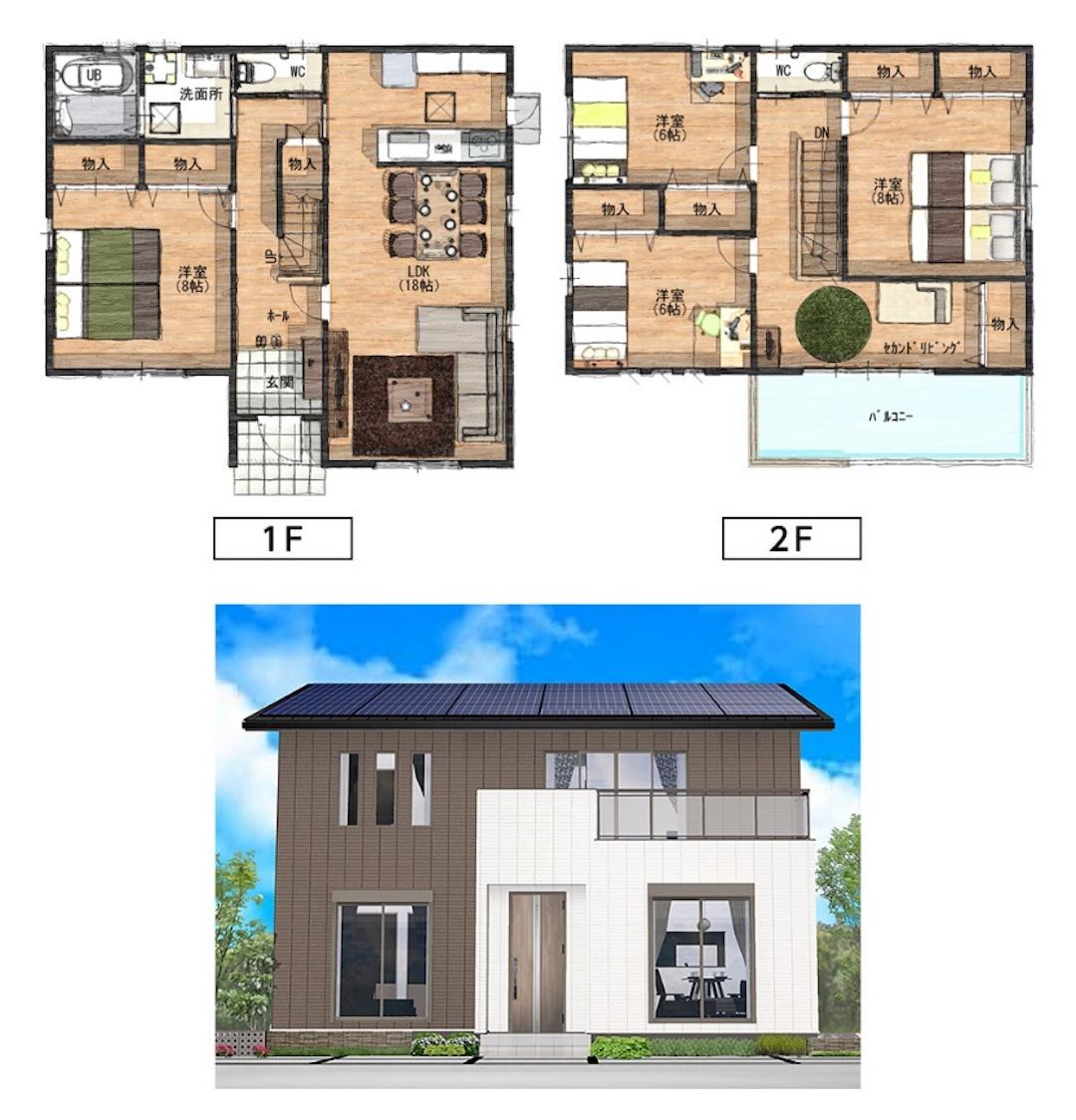 二世帯住宅は大きく分けて3パターン