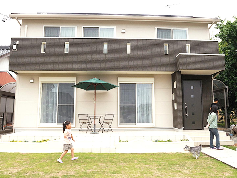 施工事例のご紹介【広々とした庭で家族が楽しむ家】(稲沢市A様邸)