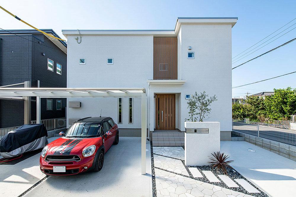 デッドスペースを上手く生かした、収納上手なゼロエネルギーハウス - 愛知県一宮市 O様邸