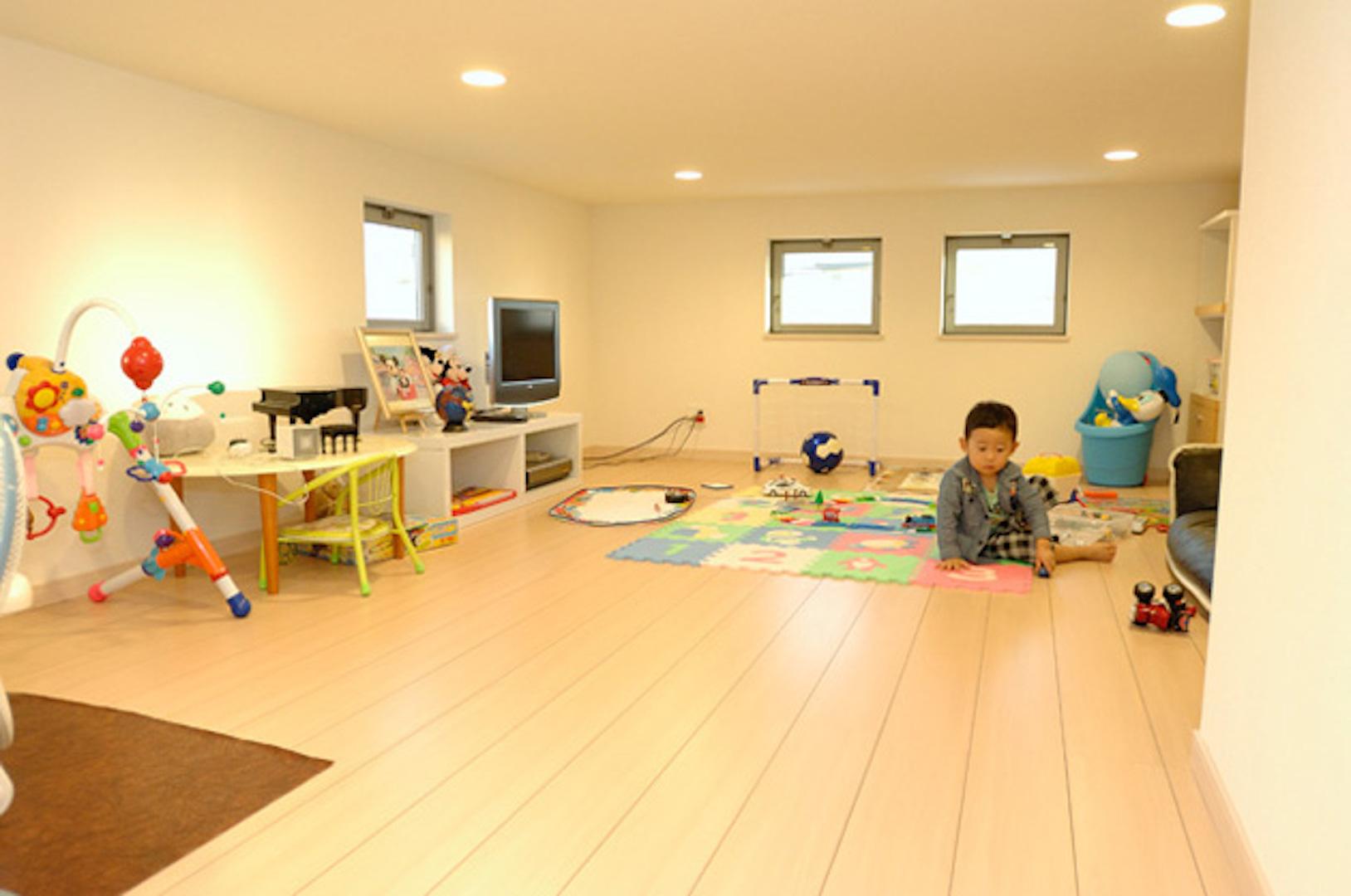 施工事例のご紹介【天井の高いリビングと便利な収納スペースのある家】(名古屋市S様邸)