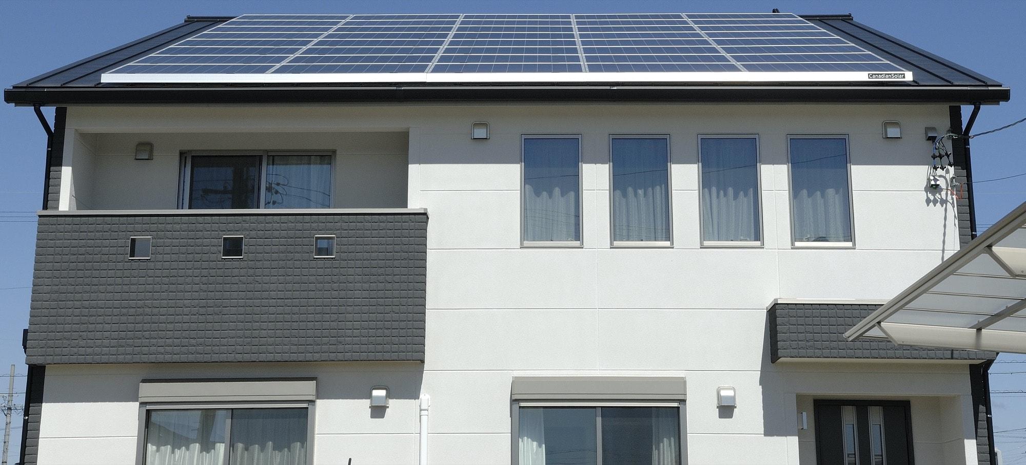 新築時に太陽光発電を搭載するメリット